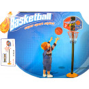 Basketball hoop with stand and ball