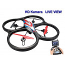 RC Quadrocopter  2,4GHz V666 mit live view