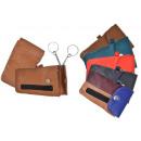 Portrait key  pocket with 2 keyrings