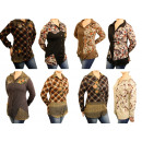 Women's Long  Sleeve Blouse Shirts Blouses Long