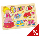 Dressing-up Puzzle 'Princess'