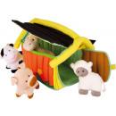 Babyspielzeug Bauernhof Textil