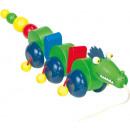 Nachziehspielzeug Zieh-Drachen