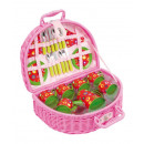Picnic Basket 'Colourful Circles'