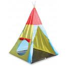 Spielhaus Zelte  mit Verbindungstunnel