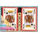 nagyker Társasjátékok: 2 x 5 kocka kártyáztak rovatban