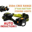 Headlamp LED Auto  Induction for Fishing