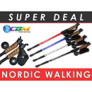 Stick, Nordic  walking sticks, cork handle