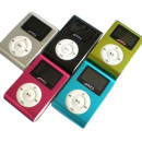 MP3 player with  clip Aluminium - MicroSD
