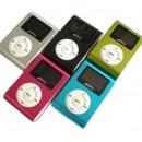 MP3-Player mit  Clip Aluminium - MicroSD