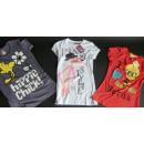 Mixposten 10 Kinder T-Shirts Tweety& Pink Panther