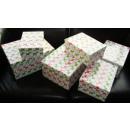 Weihnachten Verpackungsset Kartons