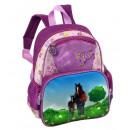 Kinder Rucksack mit Pferdemotiv