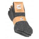 Norweger Socken  ohne Gummibund mit Plüschsohle