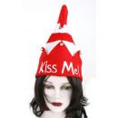 Mütze Karneval/ Weihnachten 30x 34cm