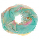 Loop snood scarf  kringle  Turquoise