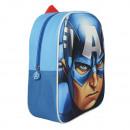 Rucksack 3D EVA  31cm Marvel Captain America