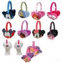 Cache-oreilles en peluche 10 assortis Disney