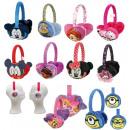 Cache-oreilles en peluche 11 assortis Disney