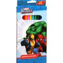 Buntstiften Set 12-teilig im Blister Spiderman