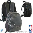 Rucksack schwarz NBA 42 x 31 x 13 cm