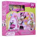 Mousse puzzle de 25 pièces Disney Minnie
