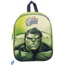 Backpack 33cm 3D Hulk
