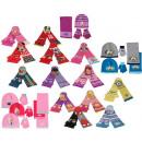Winterset 3 pièce (chapeau, gants et écharpe) FZ