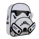 Star Wars Rucksack  3D White 2 Taschen Stormtrooper