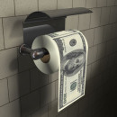 XL dollar toilet paper