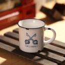 MINI porcelain cup retro - Keys