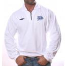 Weißes Poloshirt von Umbro Langarm