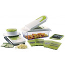 All-in One chopper and mandoline slicer