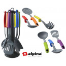 Kitchen tools with rack (7 pcs)