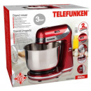 Stand mixer with  stainless steel bowl (4 designs)