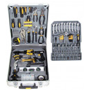 Tool set (182 pieces) in suitcase