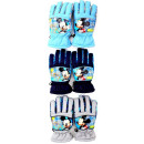 Mickey kids ski gloves