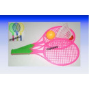 little ball game  with rackets and balls 2