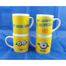 Minions Mug in carton ceramic mug