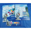 Malset Disney Frozen 3 fois, 32 x 23 cm