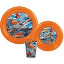 Disney Planes tableware, plastic
