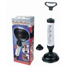 Plunger pump for pipes, sink, toilet