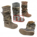 Women's Fur  autumn winter boots shoes boots