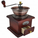 Wooden coffee grinder