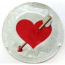 LIEBES-HERZ EXS Kondome (1 Stck.)