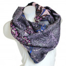 Ladies Loop scarf  scarf good quality 9D0188 Purple