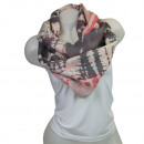 Ladies Loop scarf  good quality cloth 150539 Gray,