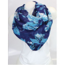 Ladies Loop scarf  scarf good quality Blue 150560