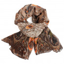 Ladies scarf shawl SCARF 9D0165 Brown