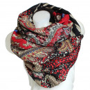 Ladies Loop scarf  scarf good quality 9D0188 Red